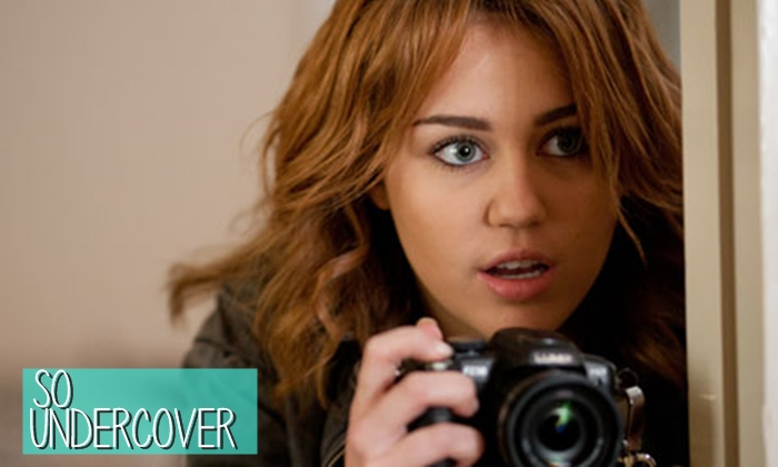 Miley Cyrus, So Undercover, film