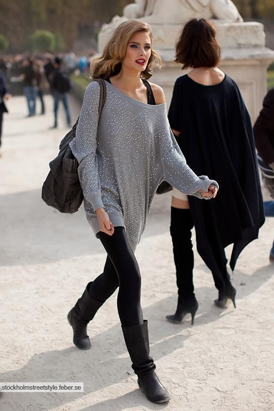 tricot cinza