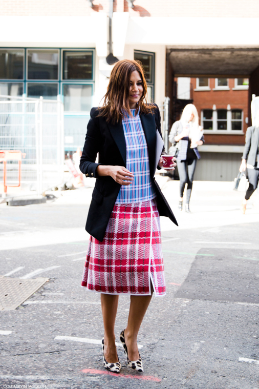lfw-london_fashion_week_spring_summer_2014-street_style-say_cheese-collage_vintage-christine_centenera-celine-plaid_trend-leopard_shoes