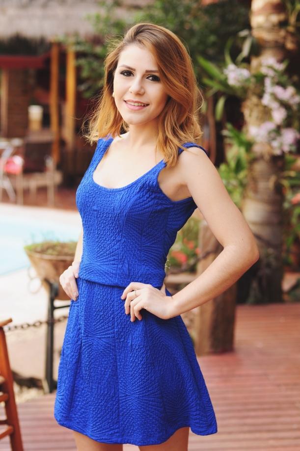 Camila Nardi - Vestido Básico Azul (4)