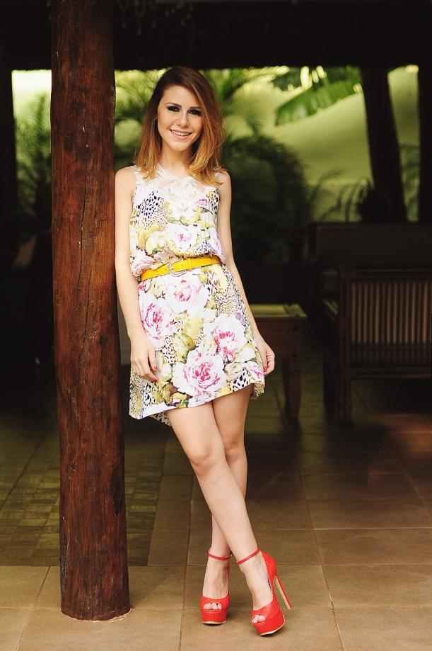 Camila Nardi - Vestido Floral  (1)