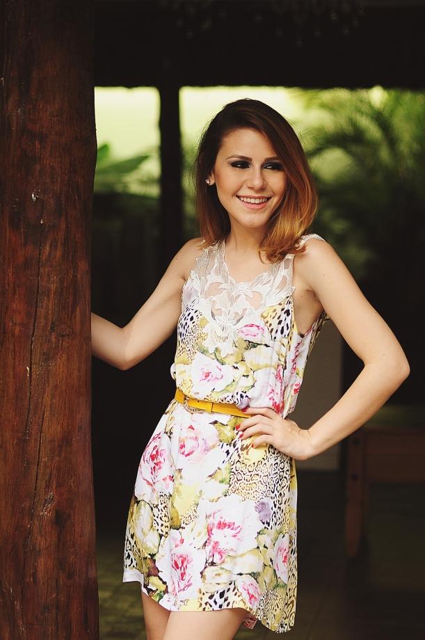 Camila Nardi - Vestido Floral  (3)